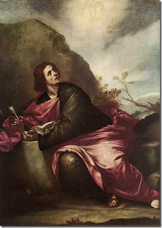 St. John the Evangelist at Patmos, 1646-50, Alonso Cano