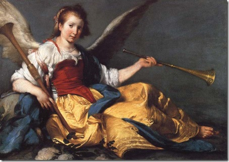 A Personification of Fame, Bernardo Strozzi