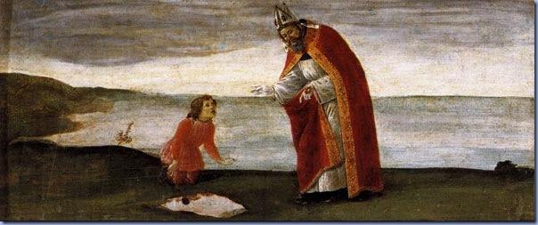 Vision of St Augustine, Sandro Botticelli
