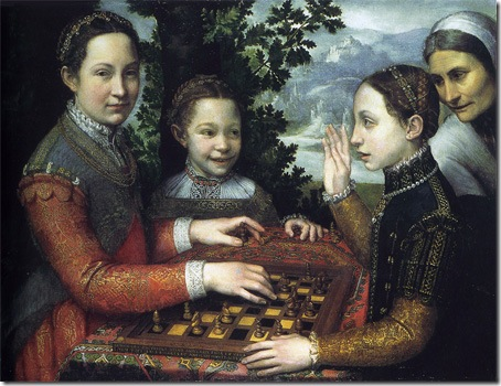 The Chess Game, 1555, Sofonisba Anguissola