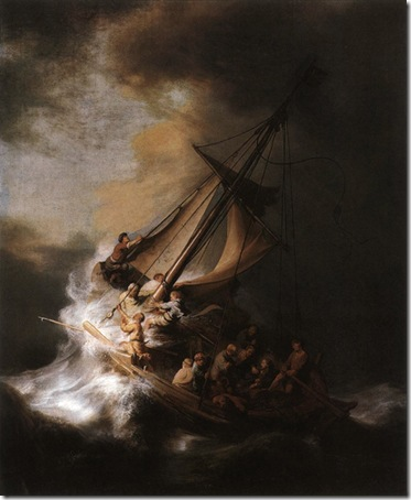 Christ in the Storm on the Sea of Galilee, 1633, Rembrandt van Rijn