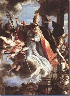 The Triumph of St Augustine, Claudio Coello