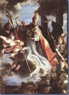 The Triumph of St Augustine, Claudio Coello