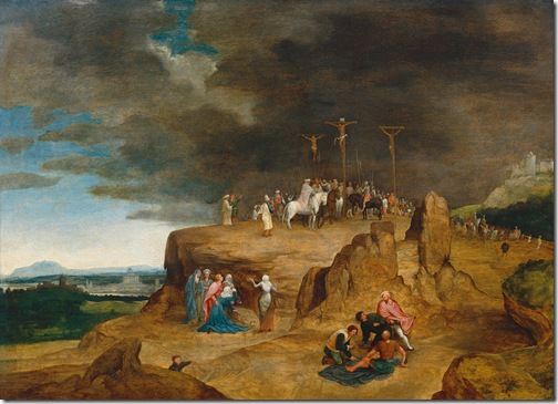 Crucifixion, first half of 16th century, Cornelis Massys
