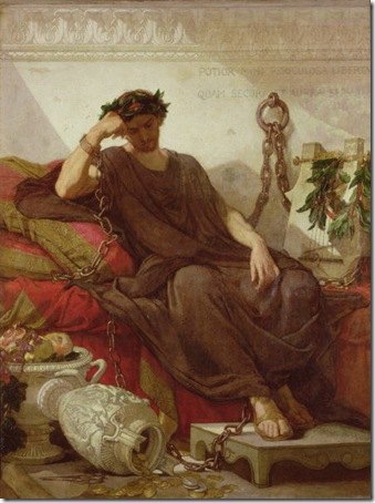 Damocles, 1866, Thomas Couture