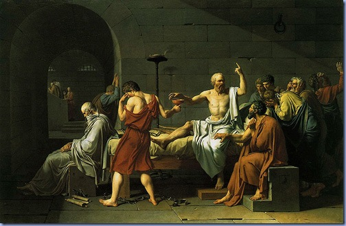 Death of Socrates, Jacques-Louis David