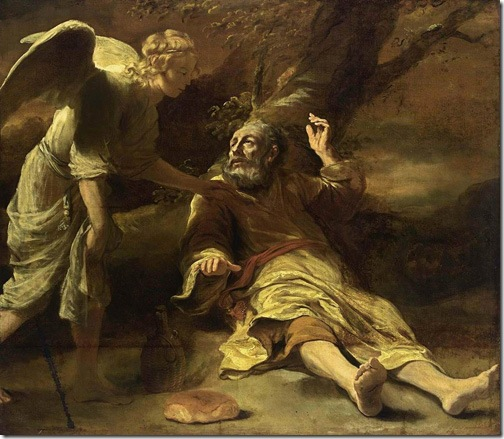 Elijah Fed by an Angel, 1660-1663, Ferdinand Bol