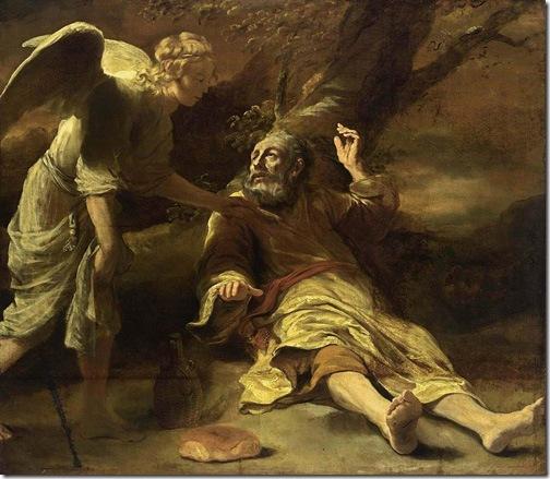 Elijah Fed by an Angel, 1660-1663, Ferdinand Bol