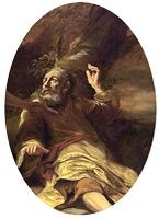 Elijah Fed by an Angel, 1660-1663, Ferdinand Bol, detail