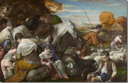 Jacob's Journey, Jacopo Bassano