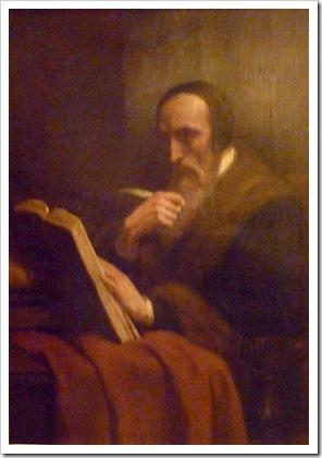 Portrait of Jean Calvin, 1858, Ary Scheffer