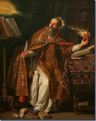 Saint Augustin, Philippe de Champaigne
