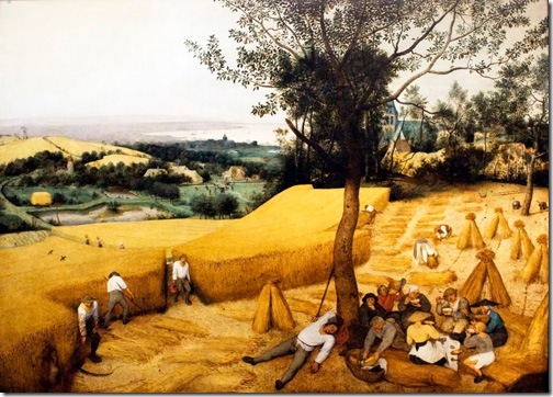 The Corn Harvest (August), Pieter Bruegel the Elder