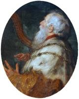 King David playing the Harp, 1616-1617, Peter Paul Rubens & Jan Boeckhorst, detail