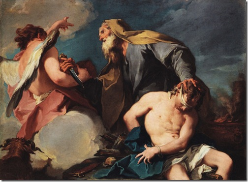 Sacrifice of Isaac, c. 1720, Giambattista Pittoni