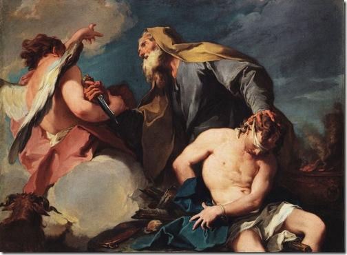 Sacrifice of Isaac, c. 1720, Giambattista Pittoni