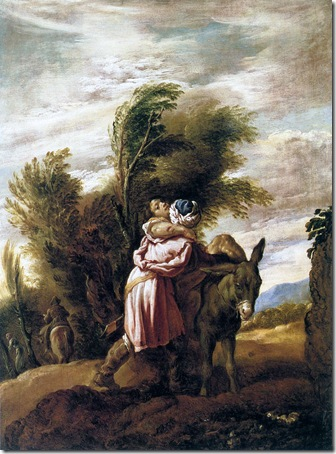 Parable of the Good Samaritan, 1617, Domenico Fetti