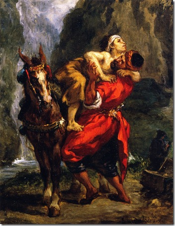 The Good Samaritan (Le Bon Samaritain), 1849, Eugène Delacroix