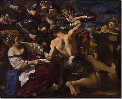Samson Captured by the Philistines, 1619, Il Guercino