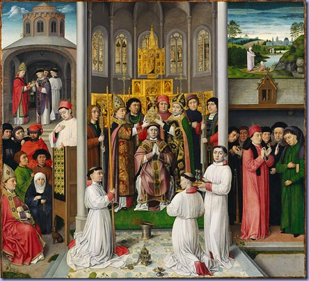 Scenes from the Life of Saint Augustine, ca. 1490