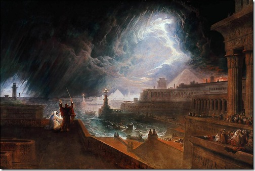 The Seventh Plague of Egypt, 1823, John Martin