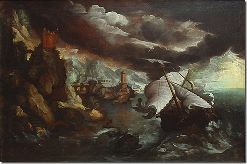 The Shipwreck of Jonah (Le naufrage de Jonas), ca. 1600, Paul Bril