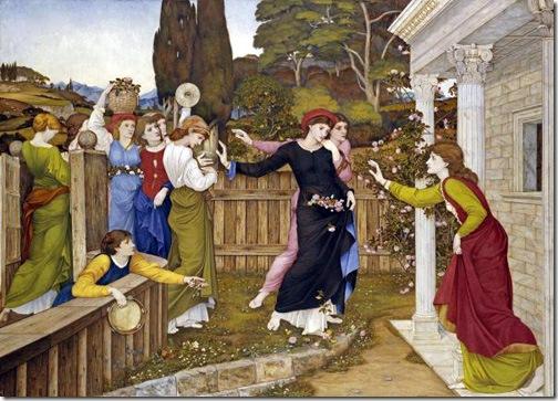 The Shulamite, ca. 1882, John Roddam Spencer Stanhope