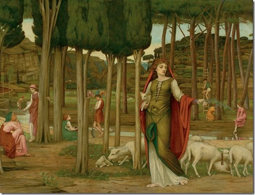 The Shulamite, John Roddam Spencer Stanhope