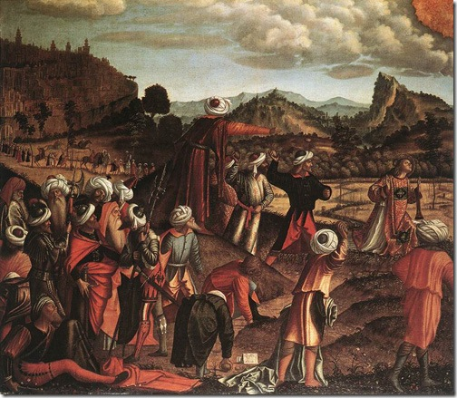 The Stoning of St Stephen, 1520, Vittore Carpaccio