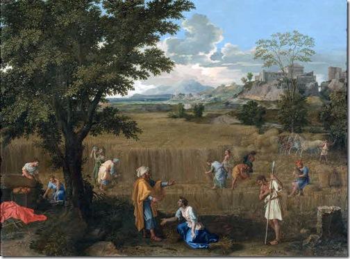 The Summer (Ruth and Boaz) / L'été (Ruth et Boaz), 1660-1664, Nicolas Poussin