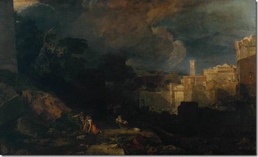 The Tenth Plague of Egypt, 1802, Joseph Mallord William Turner