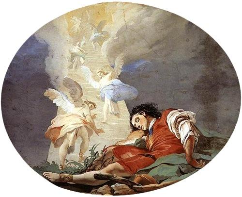 Jacob's Dream, 1726-29,  Giovanni Battista Tiepolo