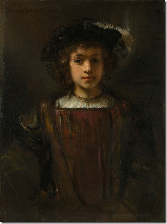 Rembrandt's Son Titus, 17th century or later, Style of Rembrandt van Rijn