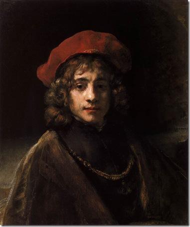 The Artist's Son Titus, c. 1657, Rembrandt van Rijn