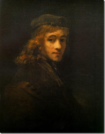 Portrait of Titus, 1659, Rembrandt van Rijn
