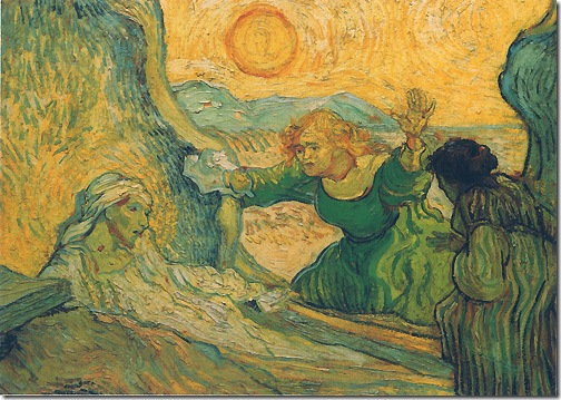 The Raising of Lazarus (after Rembrandt) / La Résurrection de Lazare (d'après Rembrandt), 1889-1890, Vincent van Gogh
