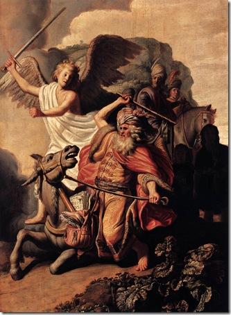 Balaam and his Ass (Bileam en zijn ezelin), 1626, Rembrandt van Rijn