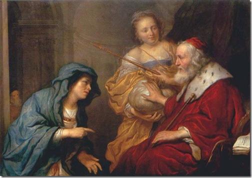 Bathsheba makes an appeal to David, 1651, Govert Flinck