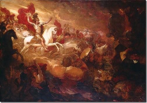 Destruction of the Beast and the False Prophet, 1804, Benjamin West