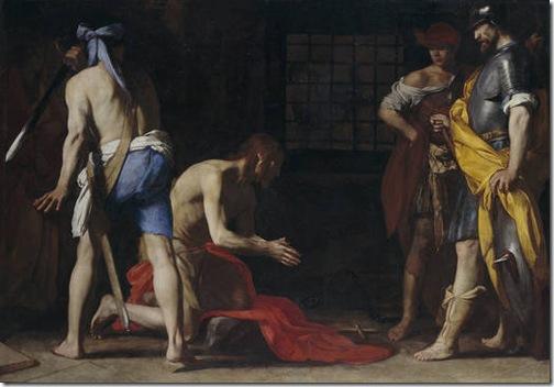 Beheading of St John the Baptist (La degollación de san Juan Bautista), ca. 1634, Massimo Stanzione