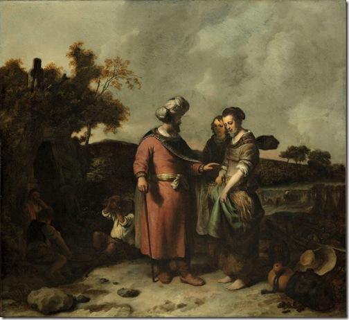 Boaz and Ruth, 1655, Gerbrand van den Eeckhout