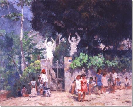 A Caminho da Escola, Eliseu Visconti