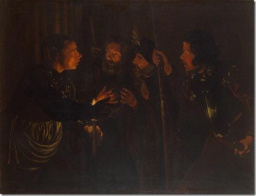 Denial of St. Peter, 1620s, Gérard Seghers