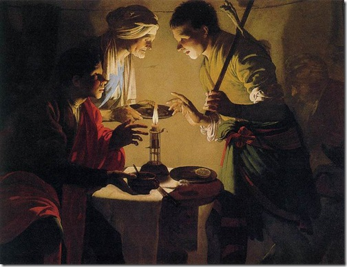 Esau Selling His Birthright, ca. 1627, Hendrick Terbrugghen