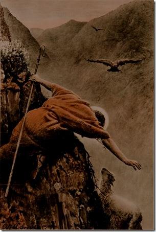 "The Good Shepherd (""The Lost Sheep""), ca. 1900, Alfred Usher Soord"