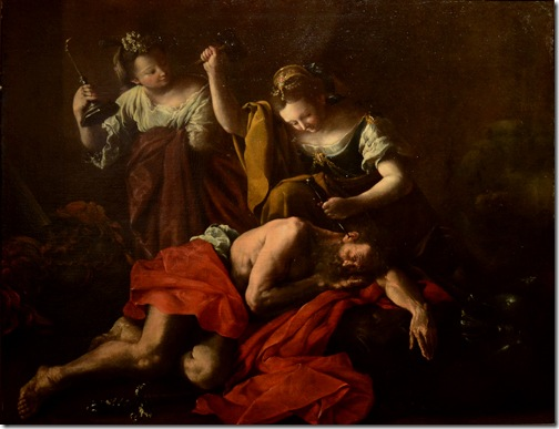 Jael and Sisera (Giaele uccide Sisara), ca. 1709, Domenico Guidobono