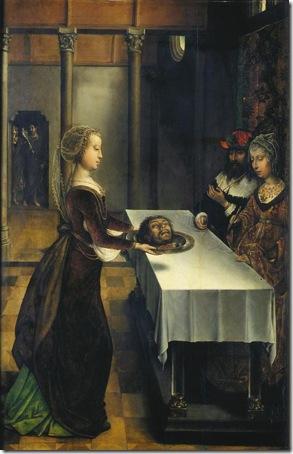 Herodias' Revenge, 1496, Juan de Flandes