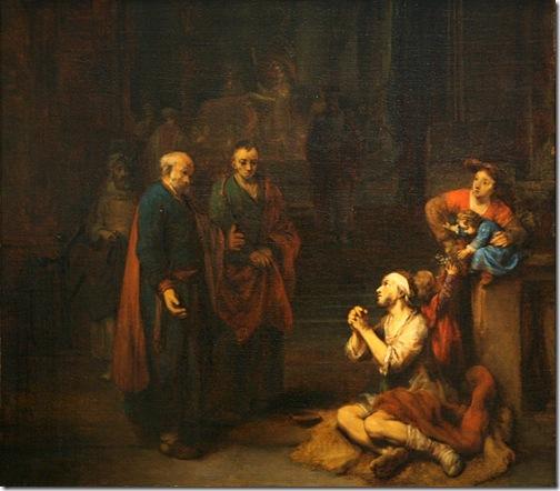 St. Peter Healing the Lame, 1667, Gerbrand van den Eeckhout