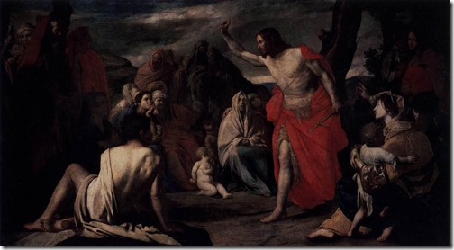 The Preaching of St John the Baptist in the Desert, ca. 1634, Massimo Stanzione