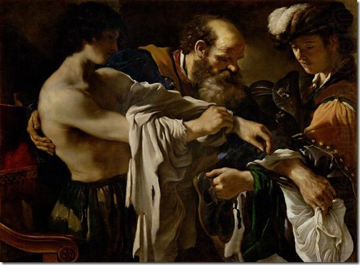 Return of the Prodigal Son, 1619, Il Guercino
